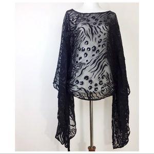 Marciano blouses pullover Kimono styles Size S